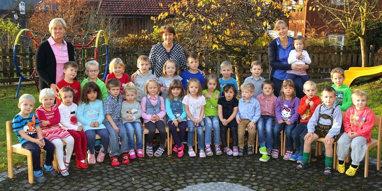 Kindergartenjahr 2014/15, Kindergarten Aich