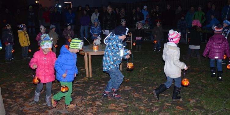 Laternenfest, Kindergarten Aich