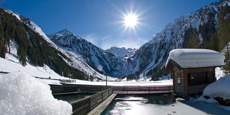 Steirischer Bodensee im Winter